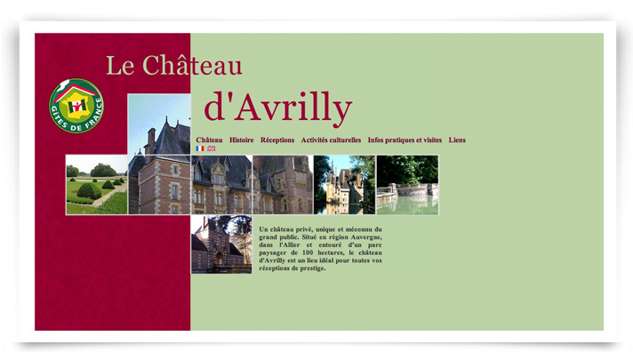 Chateau Avrilly - Html